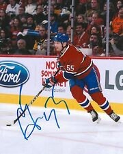 SERGEI GONCHAR signed MONTREAL CANADIENS 8X10 PHOTO with COA B