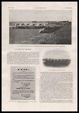 1907 - Doc.Ancien LE PONT DE FONTENOY SUR MOSELLE