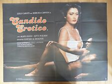 CANDIDO EROTICO (1978) - original UK quad film/movie poster, Italian, erotic/sex