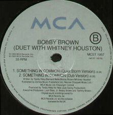 Bobby Brown With Whitney Houston - 1993 Something In Common - Mca Uk - MCST 1957
