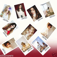 10pcs SNSD Photo LOMO Cards TAETISEO DEAR SANTA (Christmas Special Album)