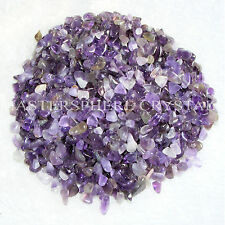 2500 x Amethyst Tumblestones Mini Chip 1mm-3mm Crystal Bulk Wholesale