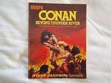 CONAN - BEYOND THUNDER RIVER, Steve Jackson Games, for GURPS system, 1988