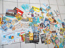 Gros lot de documents Publicitaires Spirou Dupuis Astérix Lucky Luke Gaston