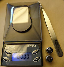 RC564 Diamond 20g x 0.001g Digital Jewelry Precision Scale & Calibration Weights