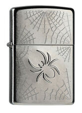Zippo Stamped Spider Rotary, Street Chrome, 2004199, Collection 2015