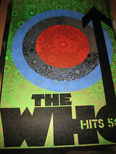 Chuck Sperry signed print..The Who Hits 50..MIRROR FOIL...WSP..DMB artist!!!