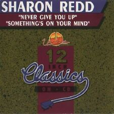 SHARON REDD  Never Give You Up 4x CD Single ss New 1993 Canada Unidisc