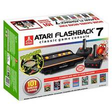 Atari Flashback 7 Classic Game Console Retro 101 Built-in Games Plug & Play