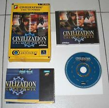 Gioco Pc Cd CIVILIZATION Call to power - Leader 1999 Classic collection Box