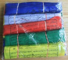 Fair Trade Tibetan Buddhist Buddhism Cotton Prayer Flag Wind Horse Nepal (S)