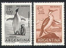 Argentina 1961 Penguins/Birds/Antarctic 2v (n24211)