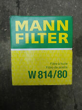 ROVER GROUP 216 1.6 Oil Filter 89 to 99 W814/80 Mann LRF000020 LRF100120 New