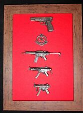 Commemorative Royal Miltary Police Close Protection Unit frame
