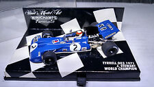JACKIE STEWART WORLD CHAMPION 1:43   MINICHAMPS 1971  TYRRELL 003