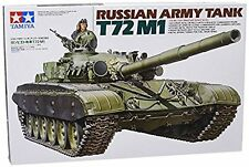 Russian Army Tank T72M1 - 1/35 Military Model Kit - Tamiya 35160