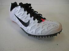 USED Men's Nike ZOOM MAXCAT 4 Track Spikes Cleats - White (Size 6)
