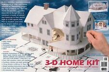 3-D Home Kit: All You Need to Construct a Model of Your Own - Free Shipping!