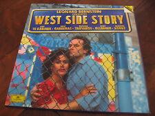 West Side Story Leonard Bernstein DG Deutsche Grammophon Classical 2 lp NM