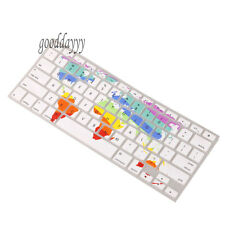 Map Silicone Thin Keyboard Cover Skin For Apple MacBook Pro 13""
