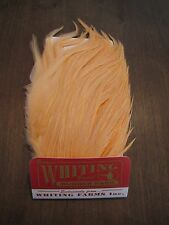 Fly Tying-Whiting Farms Bugger Pack White dyed Salmon