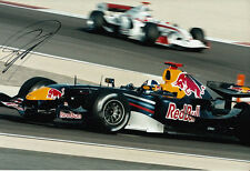 David Coulthard Hand Signed Red Bull Racing Photo 12x8 7.
