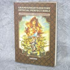 GRAND KNIGHTS HISTORY Official Perfect Bible Game Guide Japan Book PSP EB116*