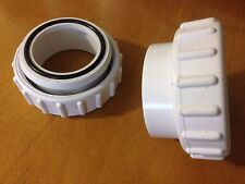 """New 2 Pack Salt Cell Union 2"""" Replacement For Hayward Aquarite GLX-CELL-UNION"""