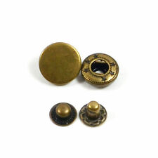 Metal Snap Fasteners Poppers Press Stud Sewing Leather Button DIY Fashion