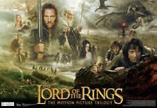 Lord Of The Rings Trilogy Movie Poster Poster Print, 19x13