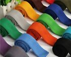 Stylish Men Solid Knit Knitted Neck Tie Woven Slim - Many Colors Patterns New