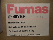 FURNAS 46YBF MECHANICAL LATCH FOR INDUSTRIAL CONTROL RELAY 115 HERTZ NEW IN BOX