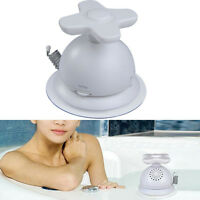 AM FM Waterproof Bathroom Shower Music Antenna Radio Suction Cup White Portable