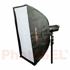 PhotoSEL SBSR8X12 80 x 120cm Softbox Bowens S Type Speed Ring Studio Flash Light