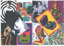 10 POSTCARDS. MOD, BARBARELLA, AVENGERS, RETRO, 60's.