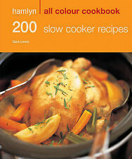 200 Slow Cooker Recipes by Sara Lewis, Hamlyn (Paperback, 2009)