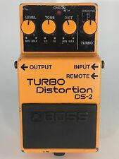 80's BOSS DS-2 TURBO Distortion Vintage Made In Japan Guitar Effects Pedal Rare