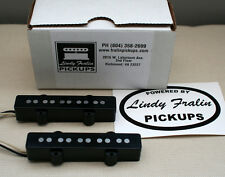 Lindy Fralin Stock Jazz Bass 5 string pickup set - black