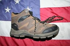 boys BRAHMA -Vance- Brown Hiking Boots Size 5: shoes/school/sport/play  #4460