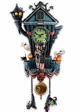 NIGHTMARE CUCKOO CLOCK- Tim Burton's The Nightmare Before Christmas Wall Clock