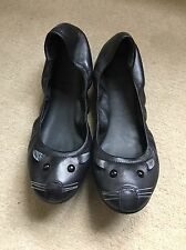 Marc By Marc Jacobs Black Stretch Mouse Ballet Flats Excellent Condition Size 38