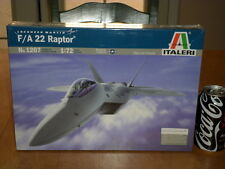 USA, LOCKHEED MARTIN- F/A 22 RAPTOR, FIGHTER PLANE, PLASTIC MODEL KIT,Scale 1/72