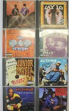 8 Rap / Hip-Hop CDs From The Early - Mid 90s 1990s Music