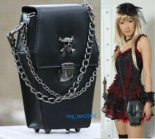 gothic Punk visual Rock litte coffin shape handbag / backpack