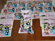 24 Powerpuff Girls Party Treat Loot Bags! Blossom Bubbles Buttercup Birthday