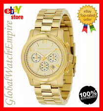 New Michael Kors gold tone chronograp Womens watch - MK5055 - RRP 250$