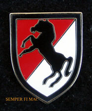 11TH ACR ARMORED CAVALRY HAT LAPEL PIN UP US ARMY CAV FORT IRWIN CA VET GIFT WOW