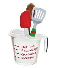 Hallmark 2012 The Merry Is in the Making Kitchen Measuring Cup Ornament