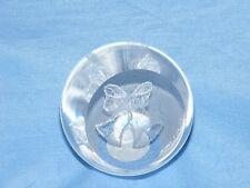 Caithness Glass Paperweight WEDDING Bells Wedding Day regalo-u12009