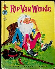 RIP VAN WINKLE Classic Tale ~Vintage Children's Rand McNally Elf Book